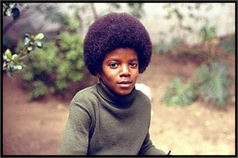 Michael at Jackson family home - age 13